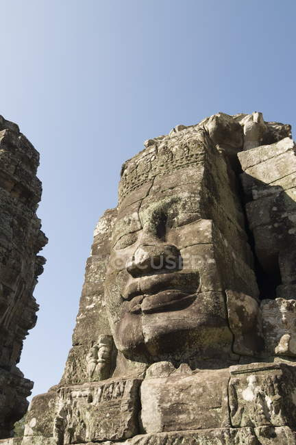 Temple Bayon, angkor thom — Photo de stock
