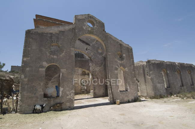 Старий Срібна шахта, Мексика — стокове фото
