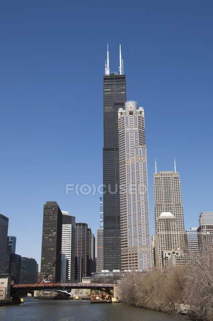 Chicago, Illinois, Estados Unidos — Fotografia de Stock