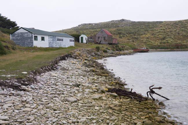 Спостерігаючи за подання на острові Вест-Пойнті — стокове фото