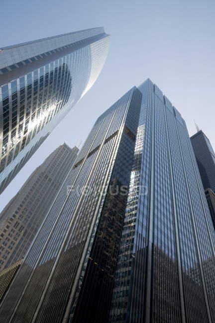 Modernos arranha-céus de Chicago — Fotografia de Stock