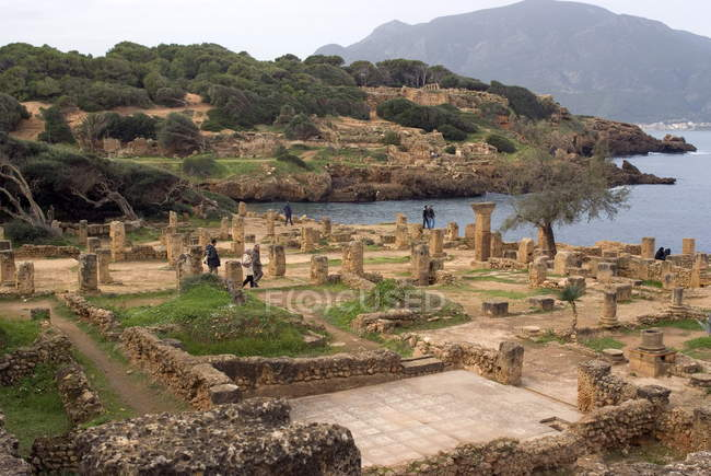 Roman site of Tipasa — Stock Photo