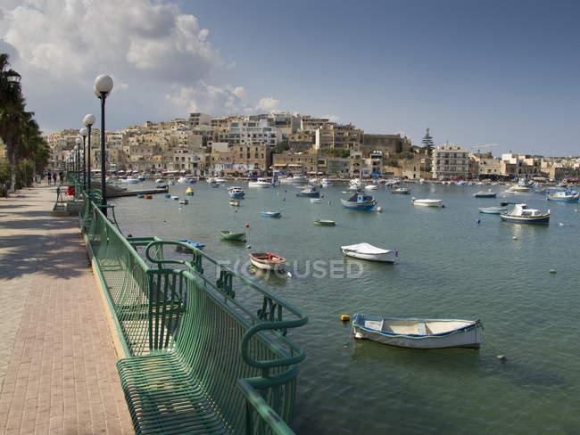 Marsaskala, Malta, Mittelmeer, Europa — Stockfoto