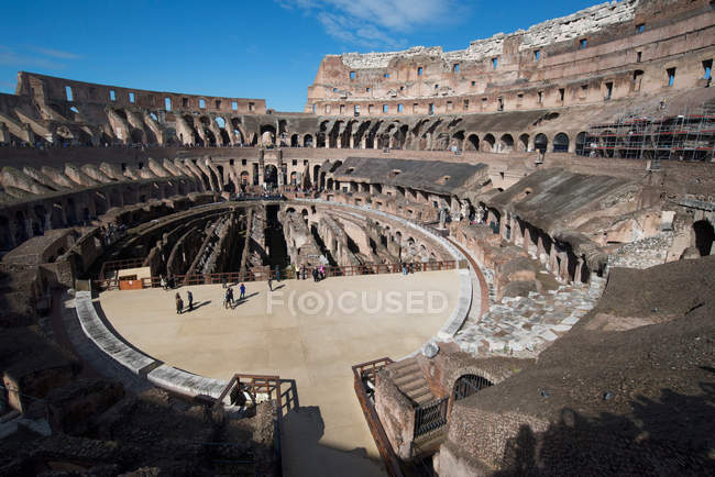 Remains of Colosseum of Rome — Stock Photo