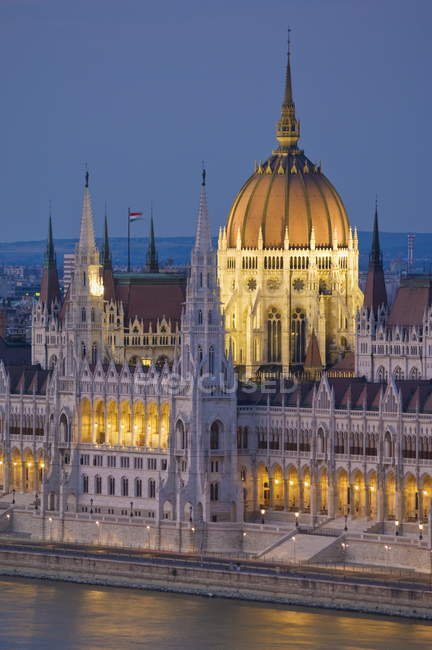 Будинок парламенту Угорщини — стокове фото