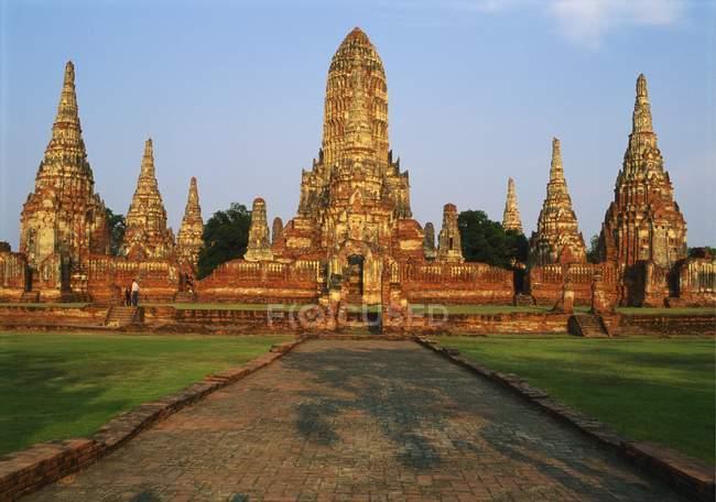 Ansicht von Phra Nakhon Si Ayutthaya — Stockfoto