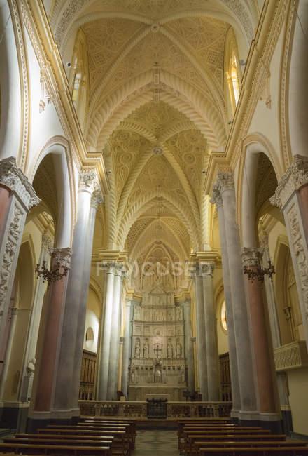 Innere des Dom-Kirche — Stockfoto