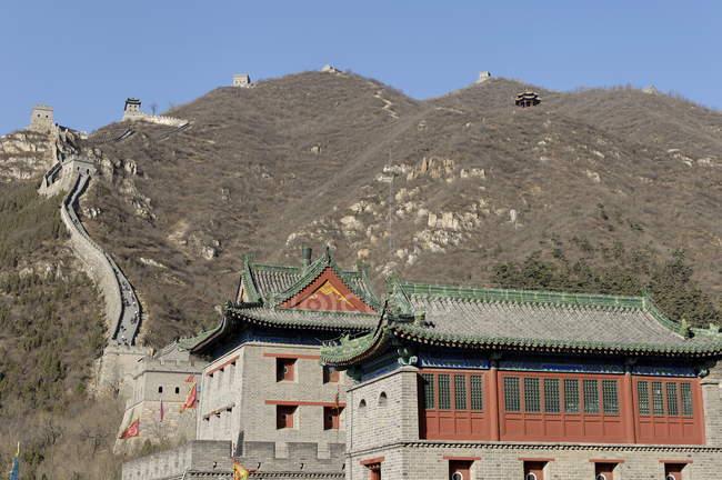 Велика Китайська стіна — стокове фото