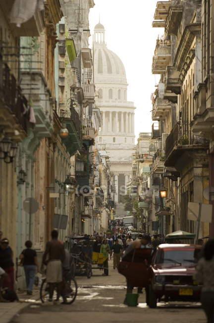 Национальный Капитолий, Гавана, Куба — стоковое фото