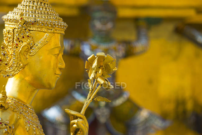 Detail, Grand Palace, Bangkok — Stock Photo