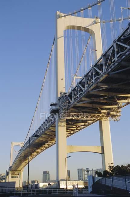 Спостерігаючи погляд Мосту Веселки — стокове фото
