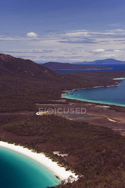 White Sand Beach of Wineglass Bay — Stock Photo