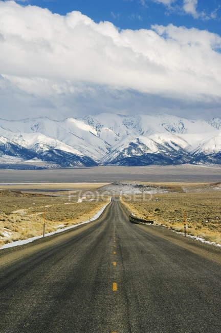 Дорога на нас маршрут 50 — стоковое фото