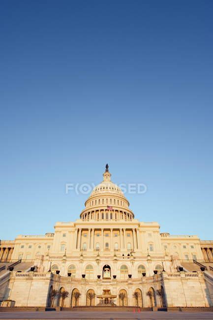 Osservando la vista di Capitol Hill — Foto stock