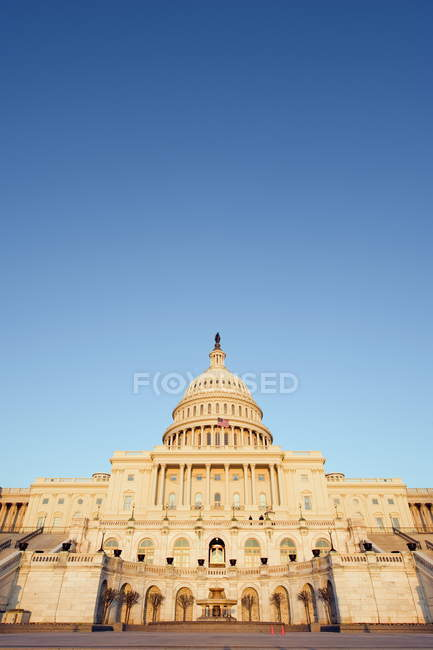 Observing view of Capitol Hill — Stock Photo