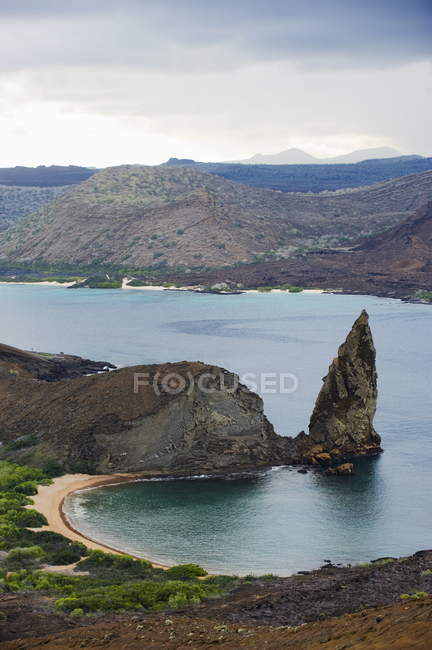 Pinnacle Rock em Isla Bartholome — Fotografia de Stock