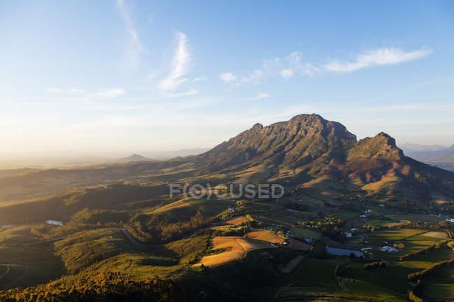 Luftaufnahme des Simonberg Gebirges — Stockfoto