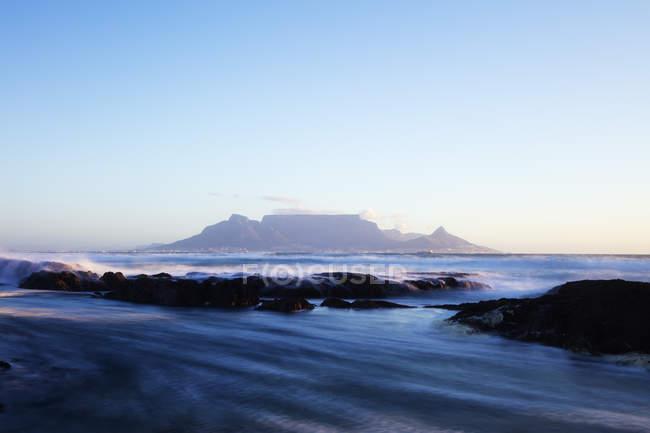 Blick auf den Tafelberg — Stockfoto