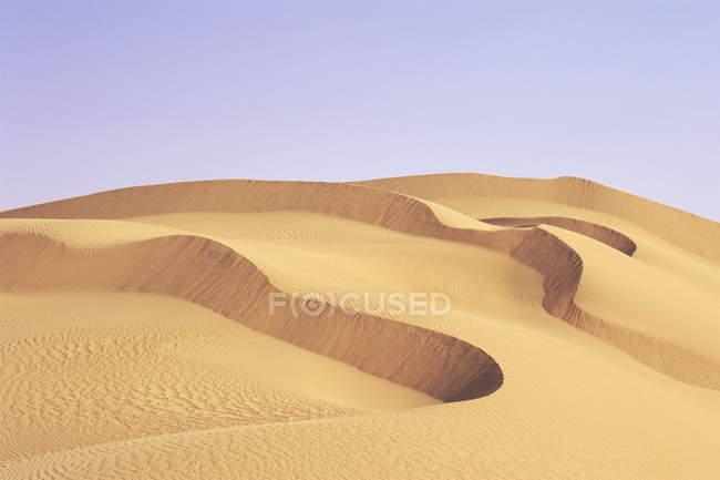 Blick auf Dünen — Stockfoto