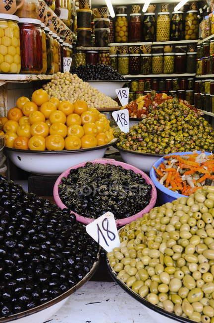 Garküche am Markt — Stockfoto