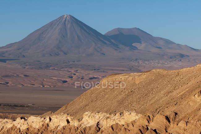 Вид на гори і скелястих утворень — стокове фото