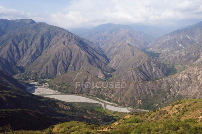 Chicamocha Національний парк — стокове фото