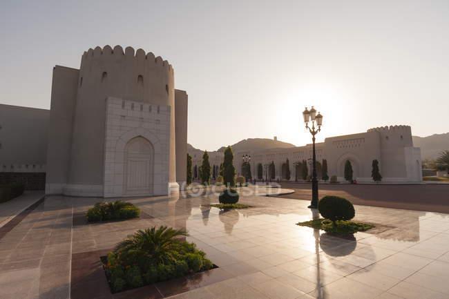 Palácio do sultão qaboos — Fotografia de Stock