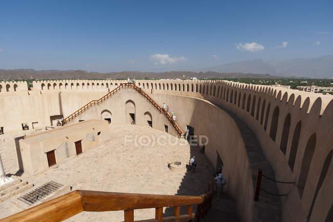 Fort de Nizwa, Omã — Fotografia de Stock