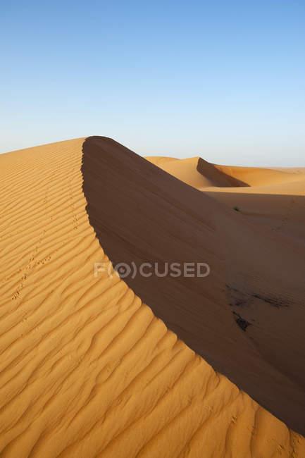 Areias de Wahiba deserto — Fotografia de Stock