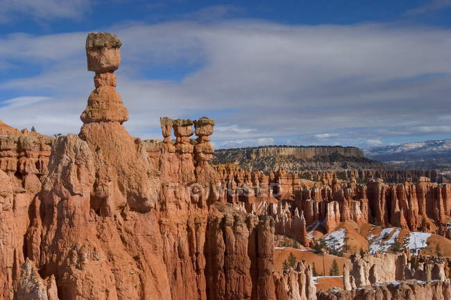 Observing view of Bryce Canyon — Stock Photo