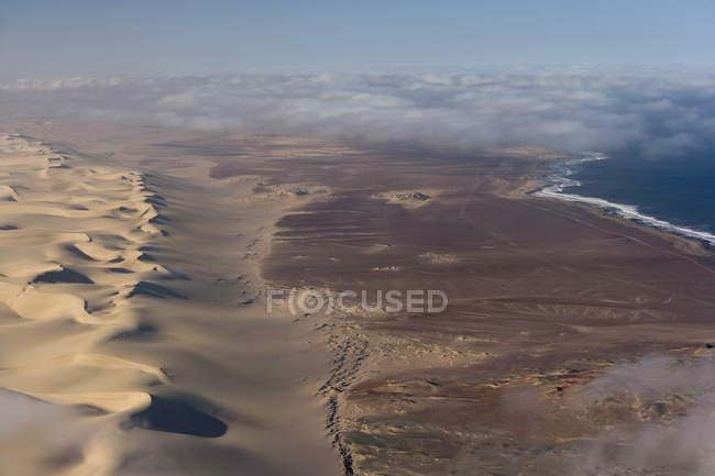 Luftaufnahme der Atlantikküste — Stockfoto
