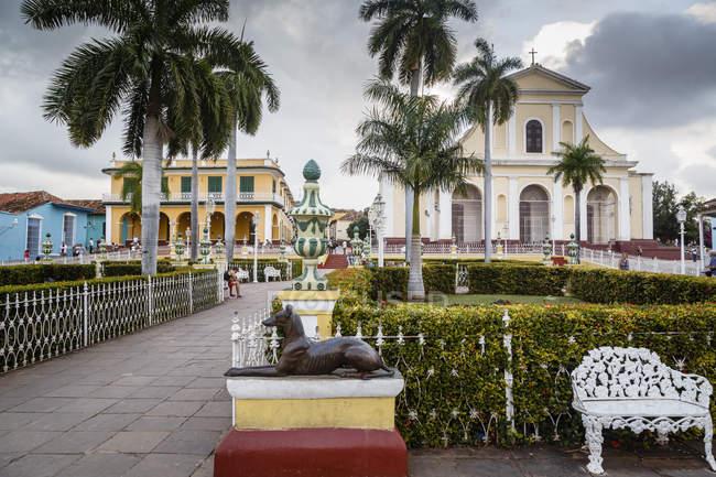 Vista plaza mayor — Foto stock
