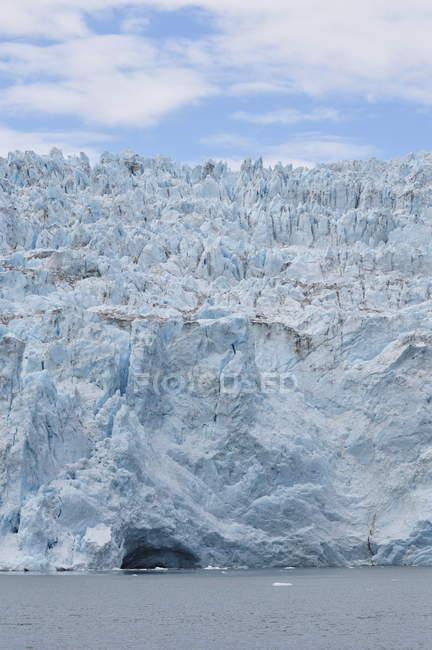 Вид на льодовик Холгейт — стокове фото
