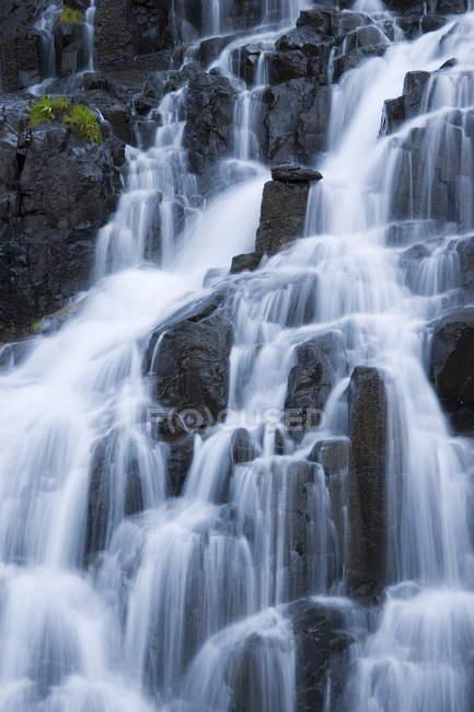 Подробная информация о водопад на ручье Sneffels — стоковое фото