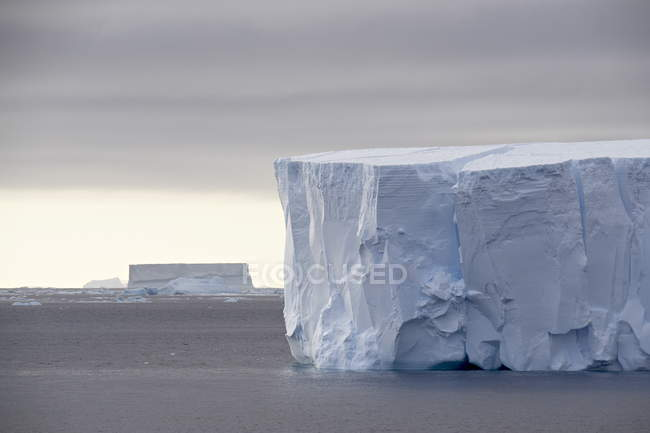 View of Tabular Iceberg — Stock Photo