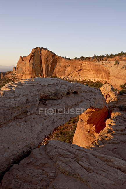 Mesa Arch bei Sonnenaufgang — Stockfoto