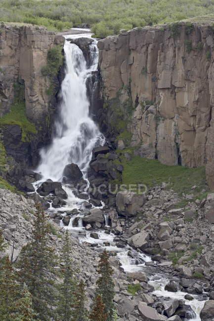 Північна ясно Creek Falls — стокове фото