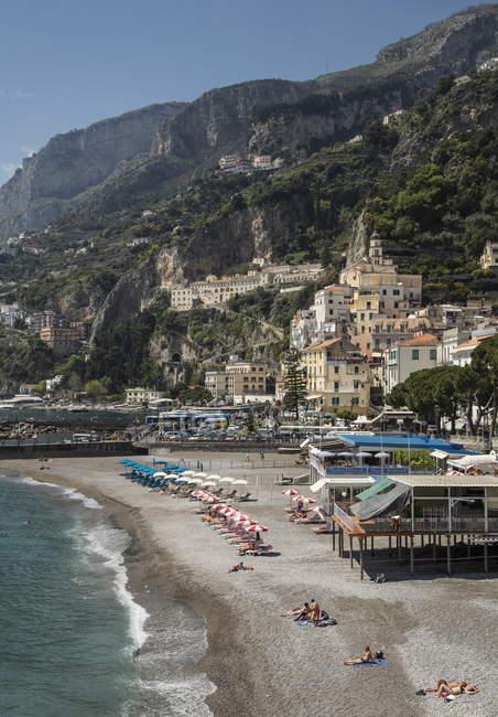 View of Amalfi Peninsula — Stock Photo