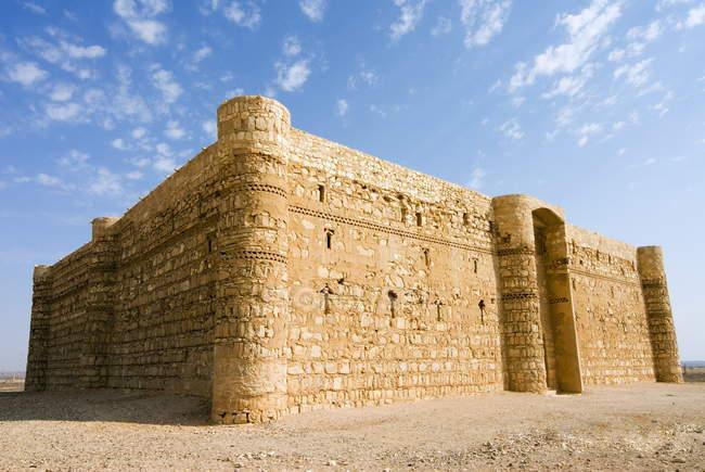 Qasr al Kharaneh desert fort — Fotografia de Stock
