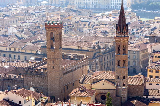 View over Florence from the Duomo — Stock Photo