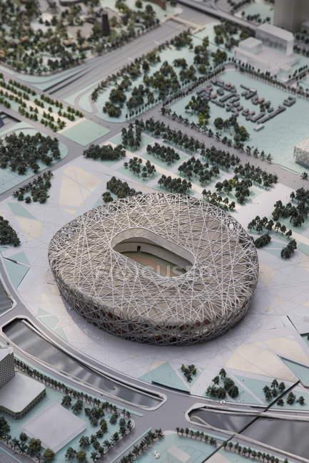 Вид на Олімпійському стадіоні — стокове фото