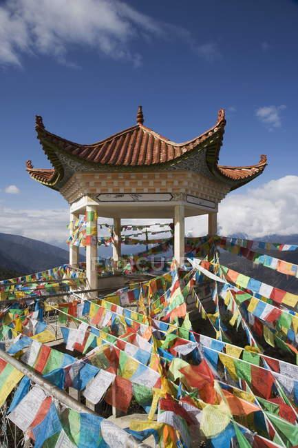 Буддійська ступа, Deqin — стокове фото
