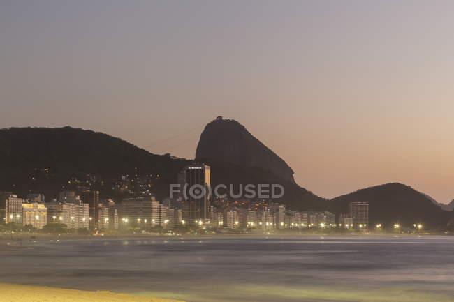 Vista di paesaggio urbano di Rio de Janeiro — Foto stock