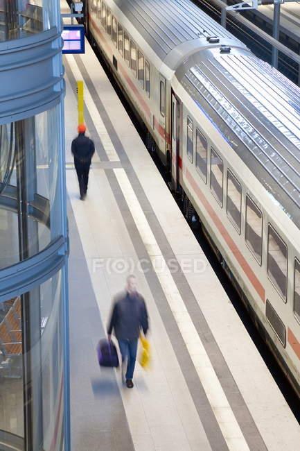 Railway station, Berlin — Stock Photo