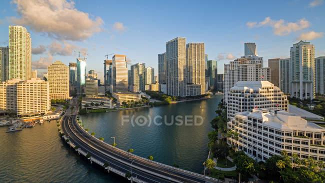 View on Miami skyline — Stock Photo