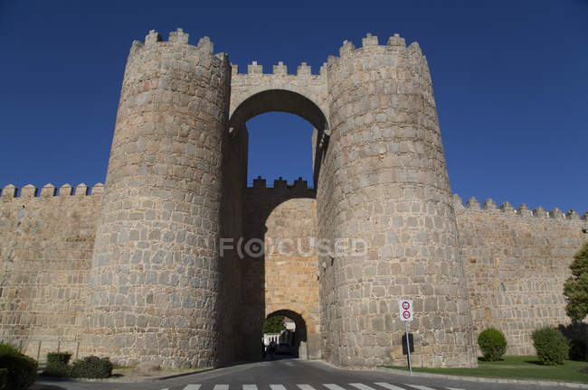 View of Puerta de Mariscal — Stock Photo