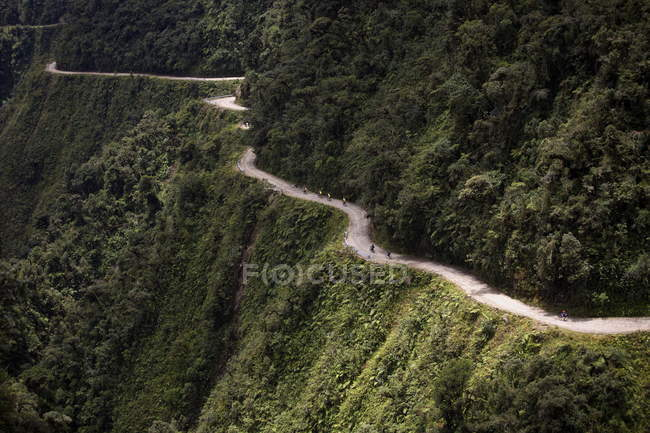 View of El Camino della Muerte — Stock Photo