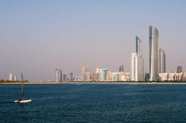 Abu dhabi, Emirados Árabes Unidos — Fotografia de Stock