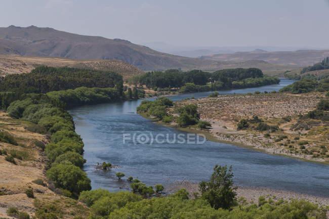 Osservando la vista del fiume Rio Negro — Foto stock