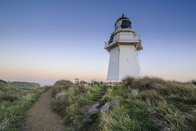 Waipapa Point Lighthouse — Stock Photo